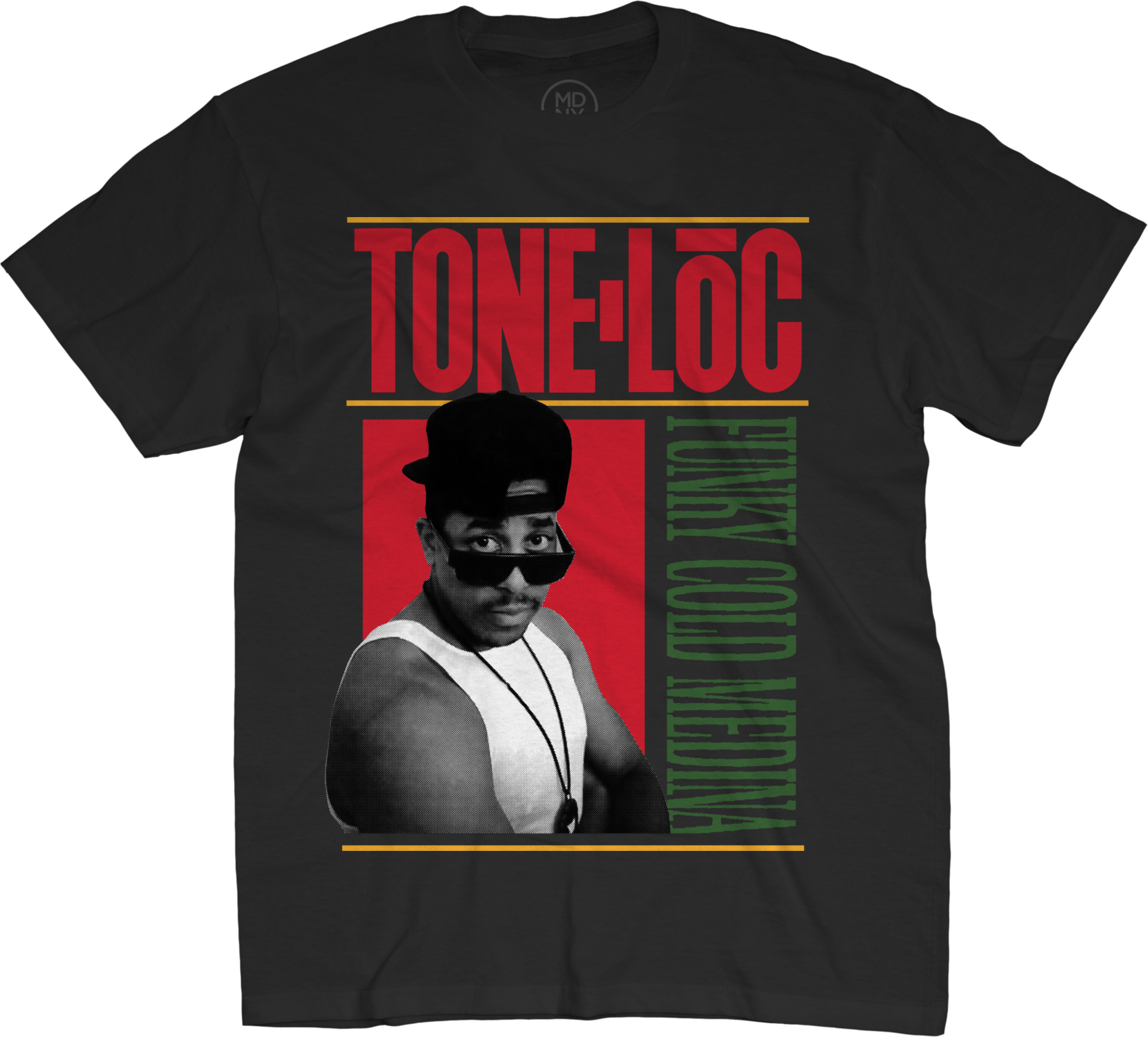 Funky Cold Medina On Black T-Shirt