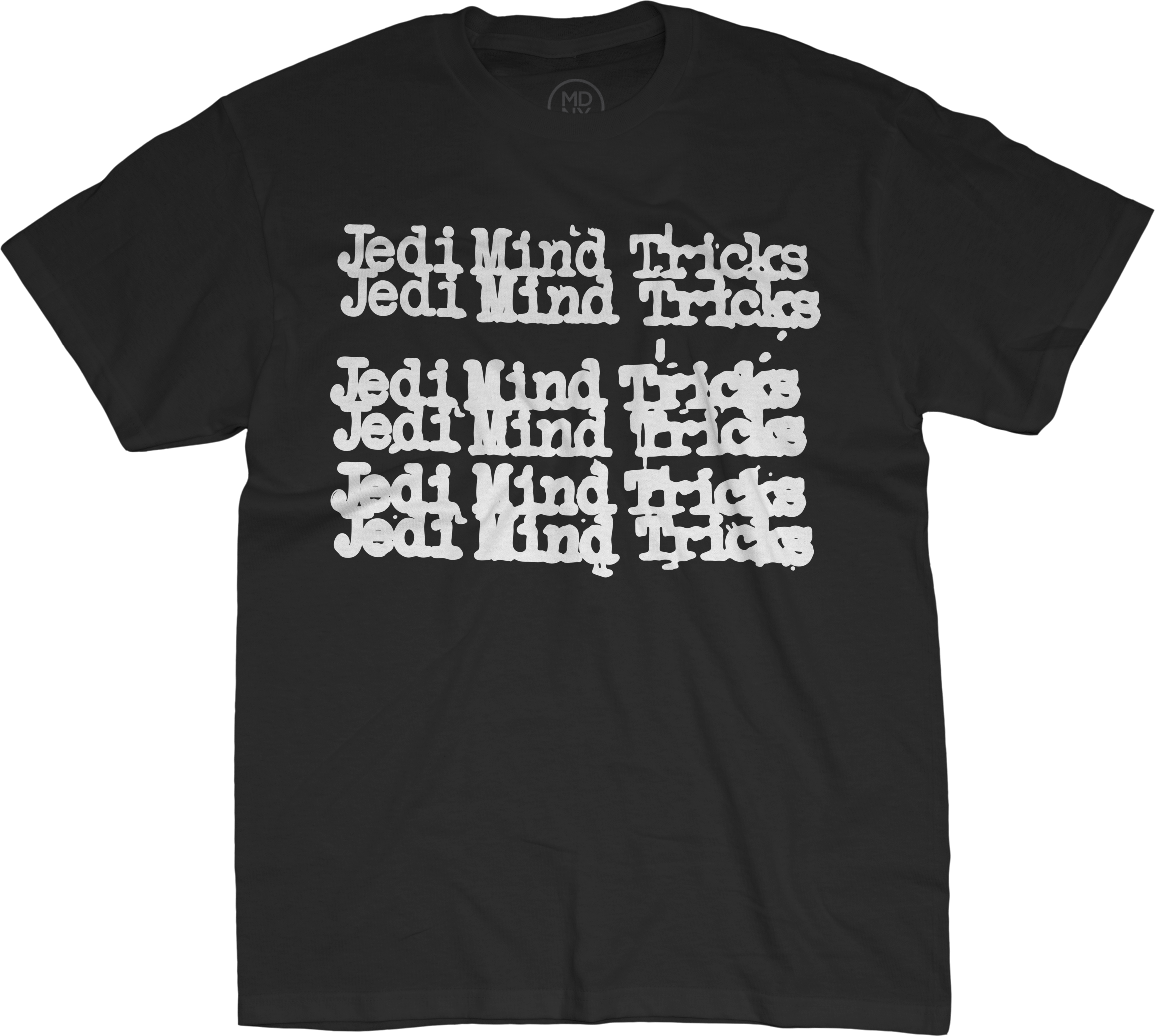 Jedi Mind Tricks Repeat on Black T-Shirt