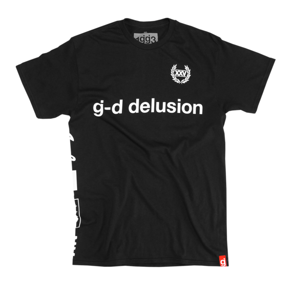 Delusion Black T-Shirt