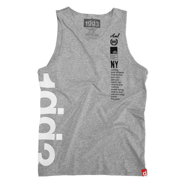1gg3 Heather Grey Tank Top