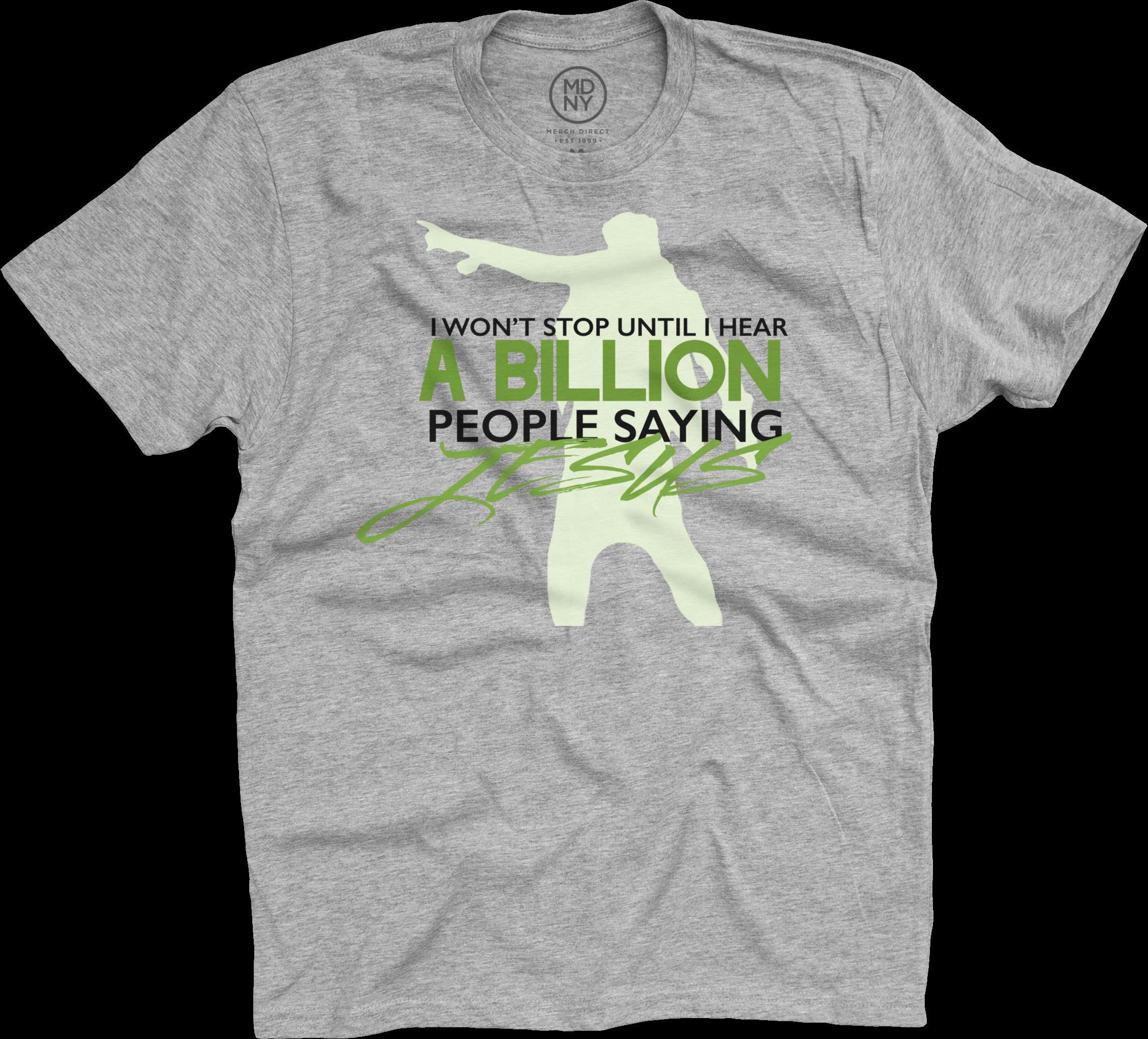 Dietrick Haddon - I Won't Stop on Grey T-Shirt