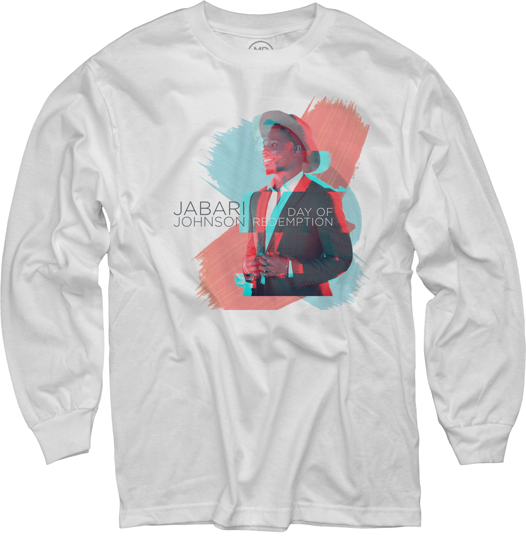 Jabari Johnson on White Long Sleeve