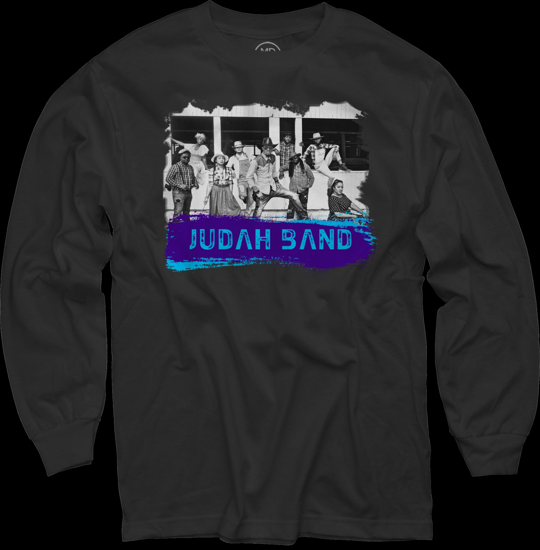 Judah Band on Black Long Sleeve