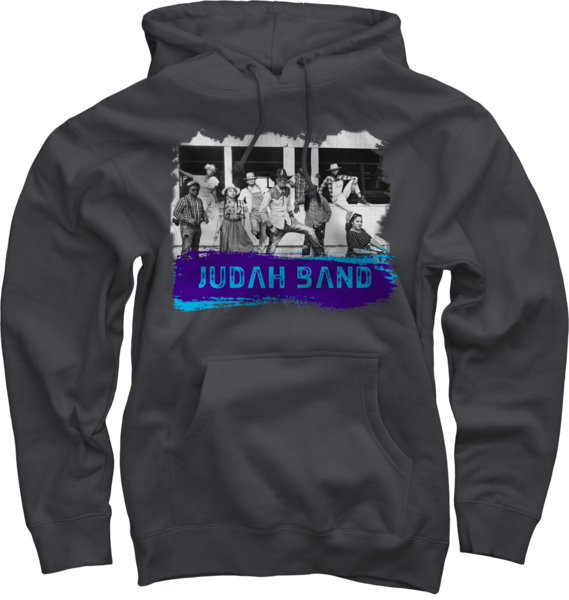 Judah Band on Charcoal Pullover
