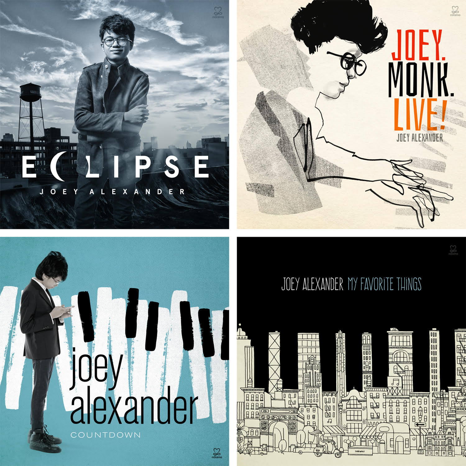 Joey Alexander - All 4 Joey CDs in one bundled package