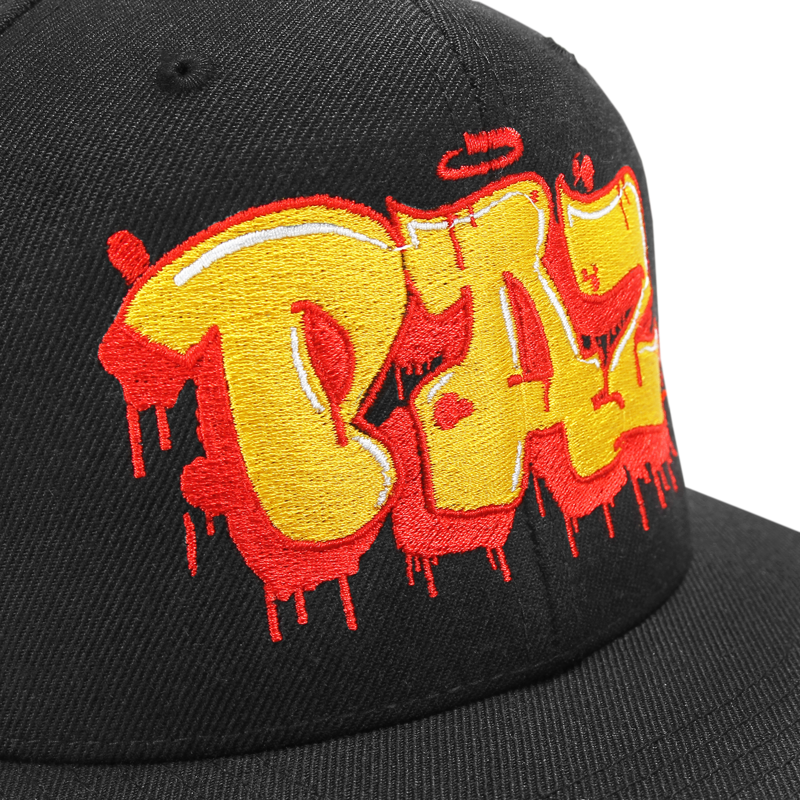 King Paz Tag Black Snapback