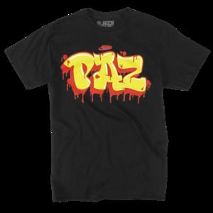 King Paz Tag on Black T-Shirt