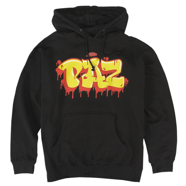 King Paz Tag on Black Pullover