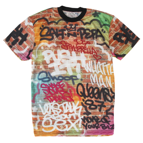 Salt N Pepa Graffiti Tee