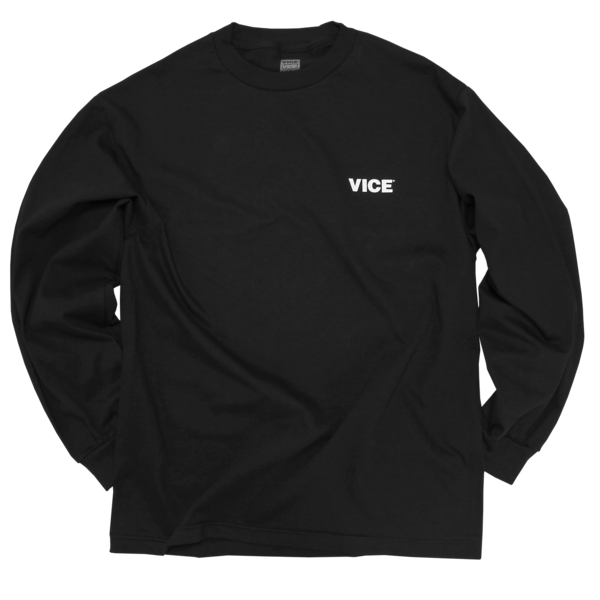 VICE Black Long-Sleeve T-Shirt