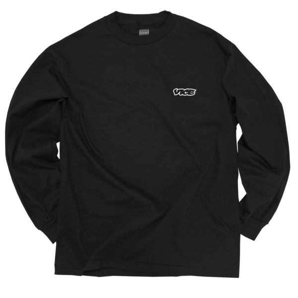 VICE Classic Black Long-Sleeve T-Shirt