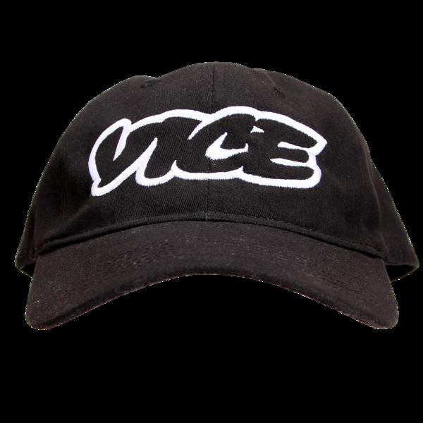 VICE Classic Black Baseball Cap