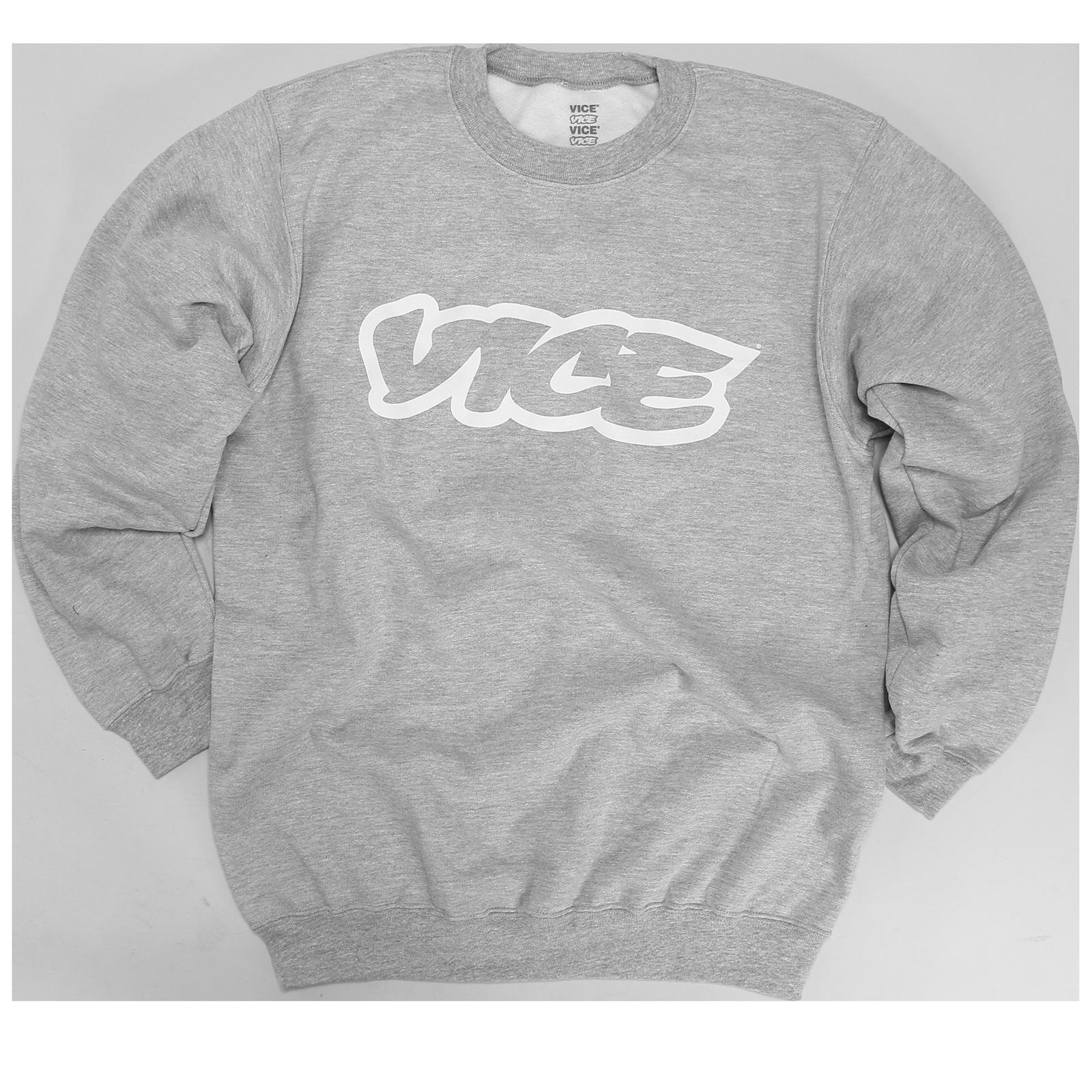 VICE Classic Grey Sweatshirt
