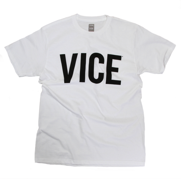 VICE White T-Shirt