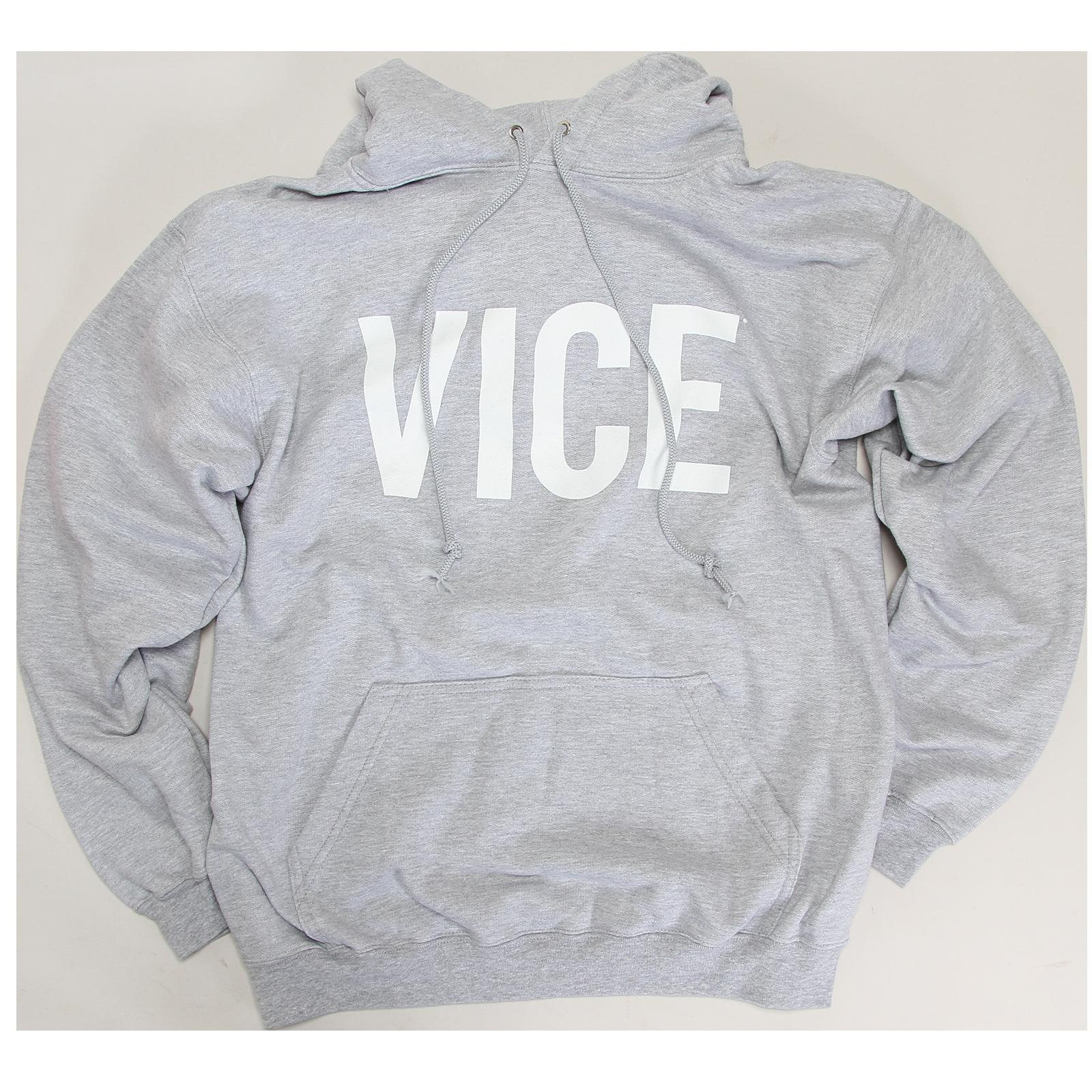 VICE Grey Hoodie