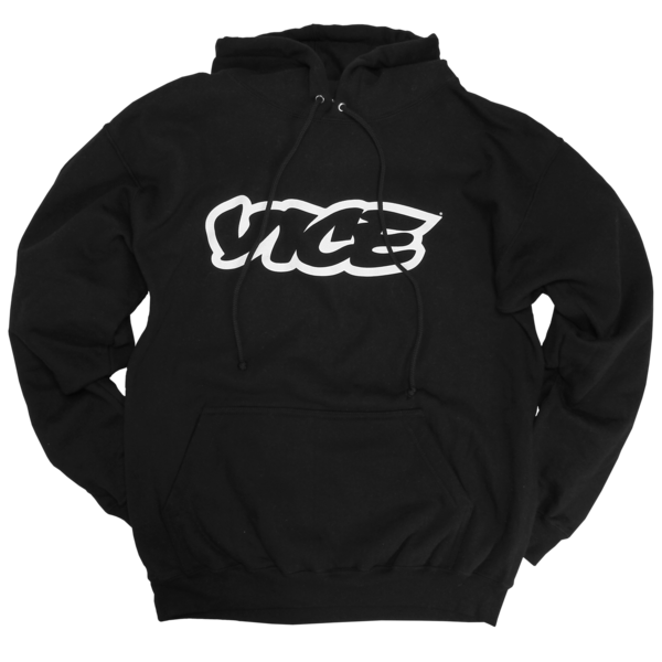 VICE Classic Black Hoodie