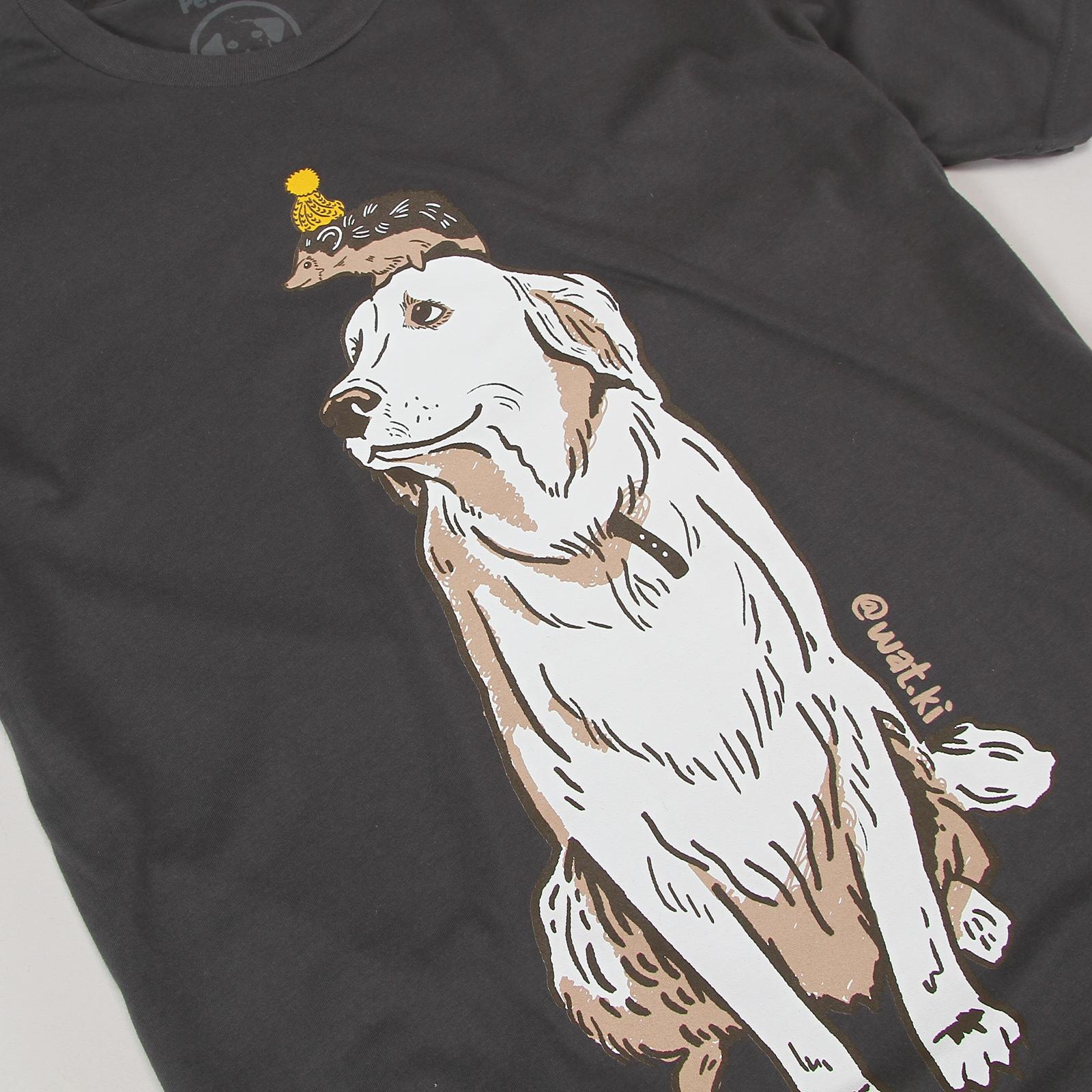 Wat.Ki - Charcoal T-Shirt