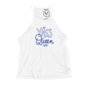 Smoothie - Yass Queen White Tank