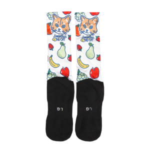 Smoothie - Dye Sub Socks