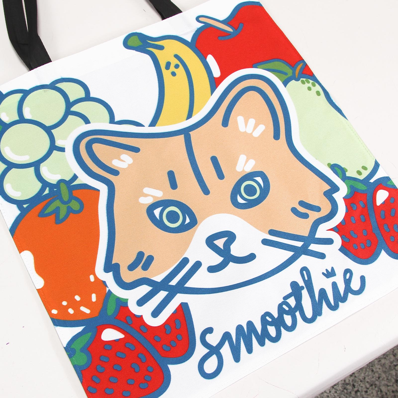 Smoothie - Dye Sub Tote Bag