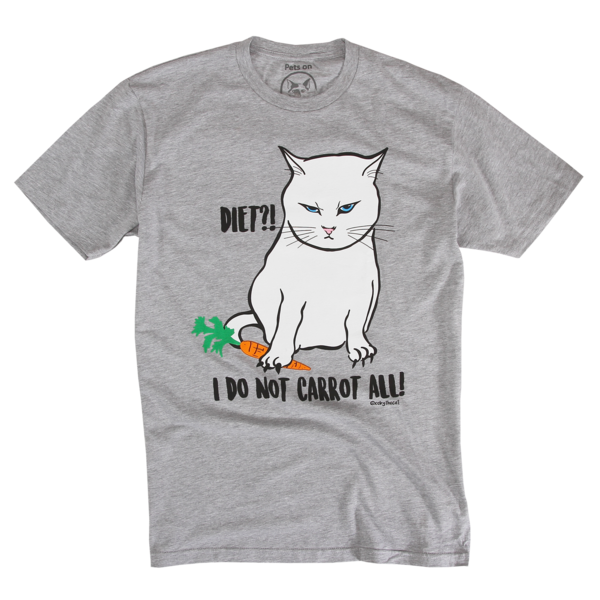 Coby - Diet?! on Grey T-Shirt