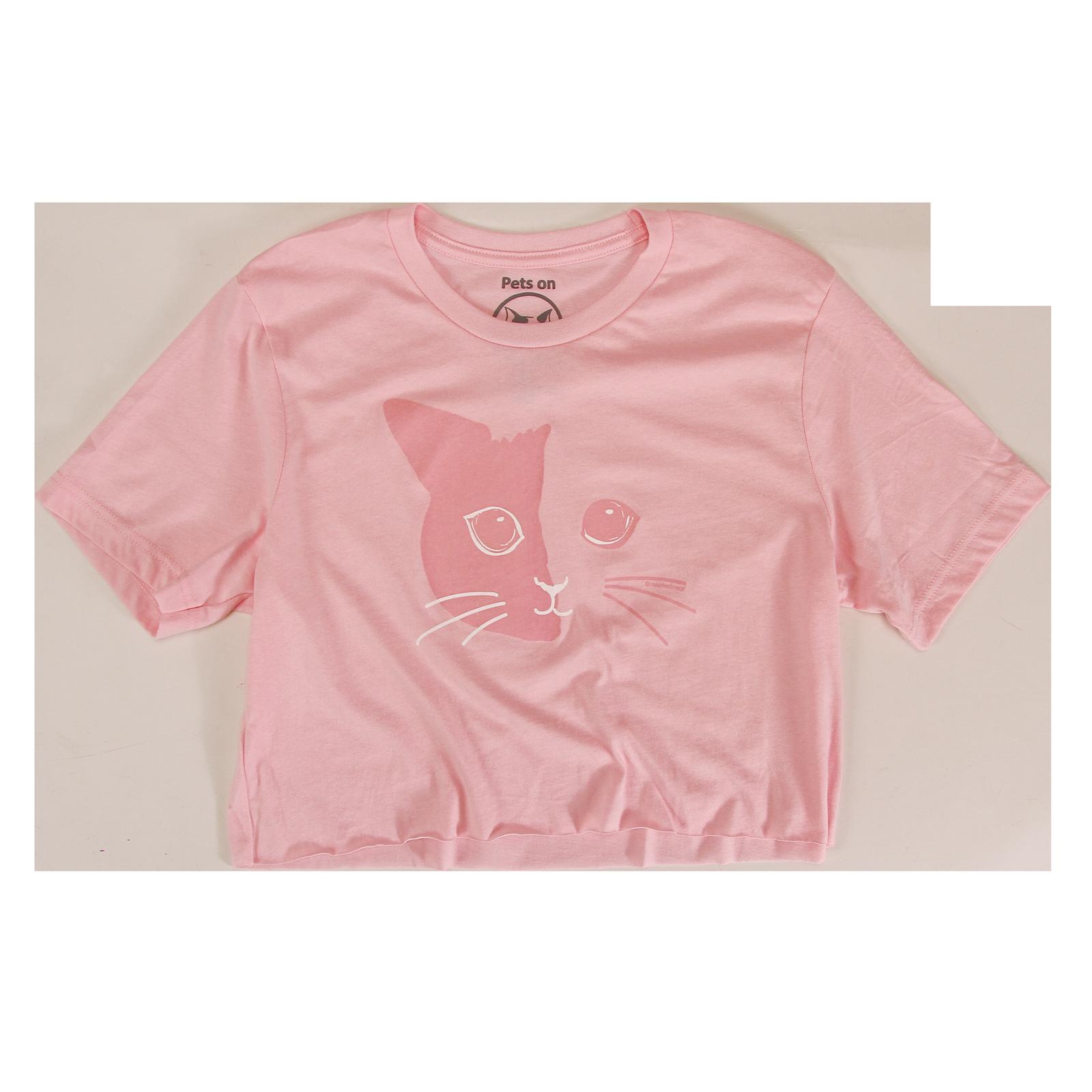 Venus - Tonal Pink Crop Tee