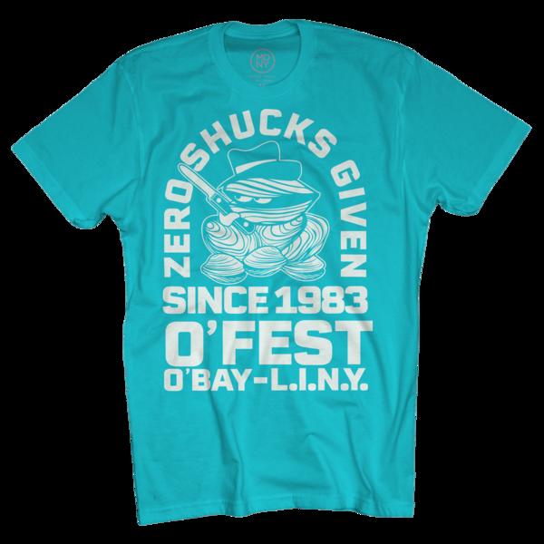 2018 Zero Shucks Given Tahiti Blue T-Shirt