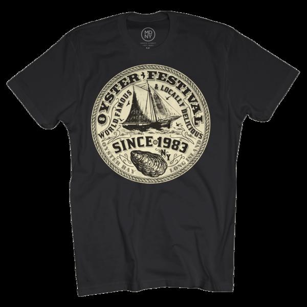 2018 Oyster Fest Black T-Shirt