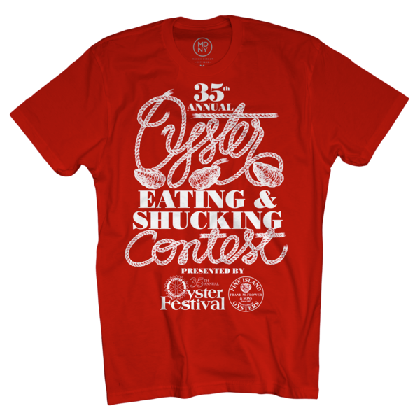 2018 Shucking Contest Red T-Shirt