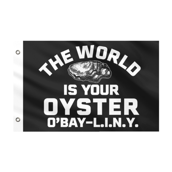 World Is Your Oyster Yacht Flag