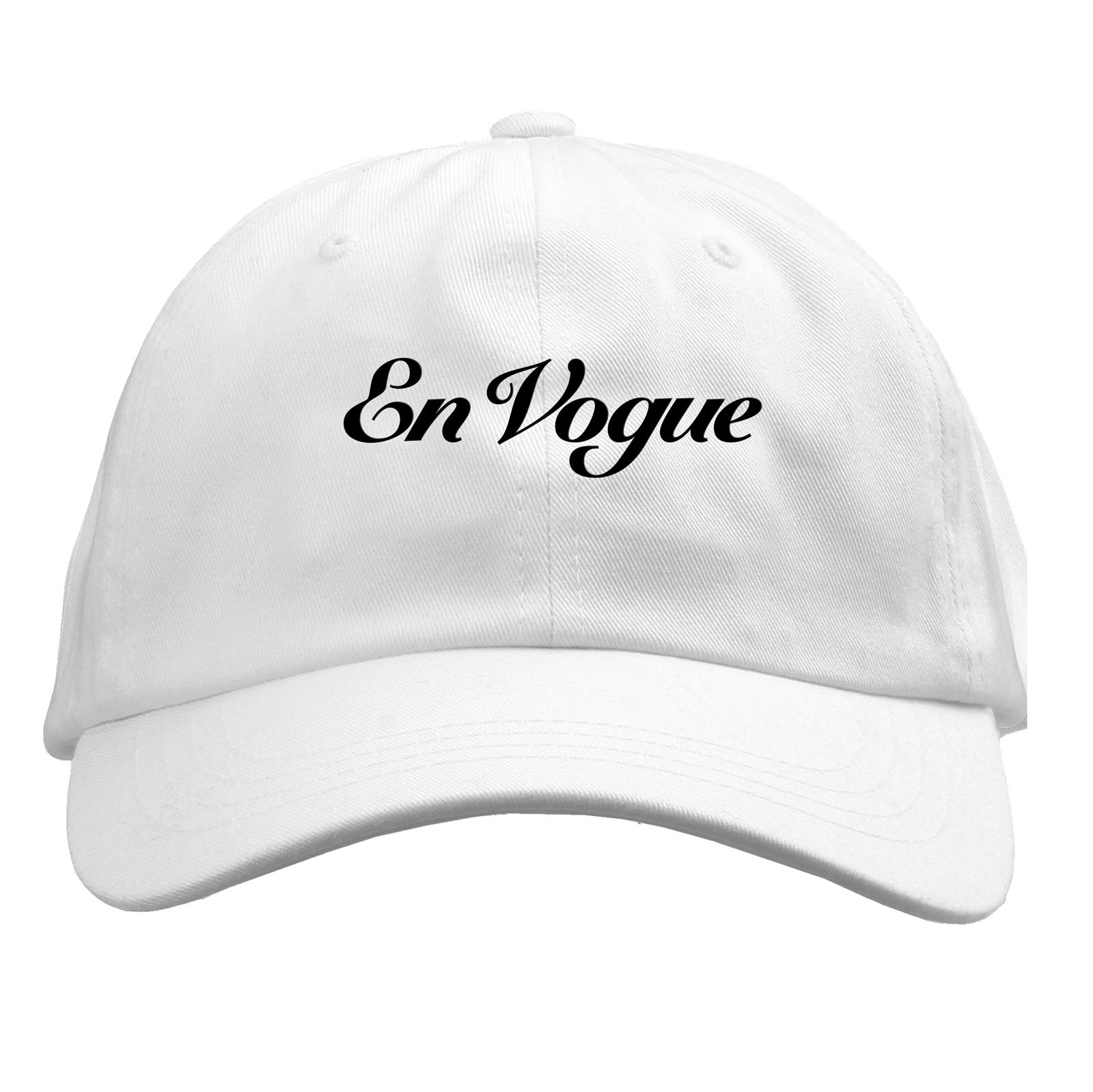 En Vogue White Dad Hat