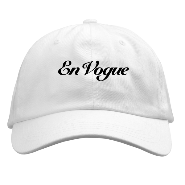 En Vogue White Dad Hat