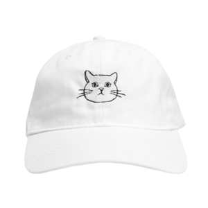 Coby - White Dad Hat