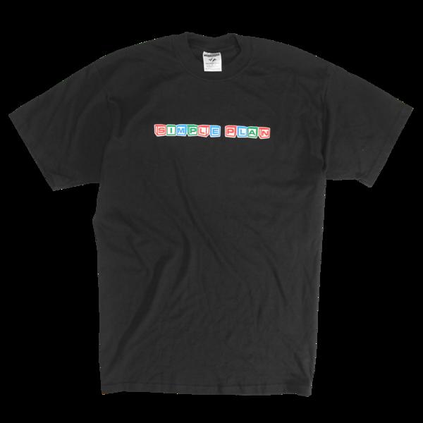 Vintage Simple Plan Building Blocks T-Shirt