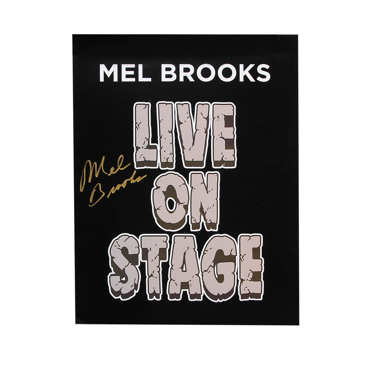 Live on Stage Poster - Autographed