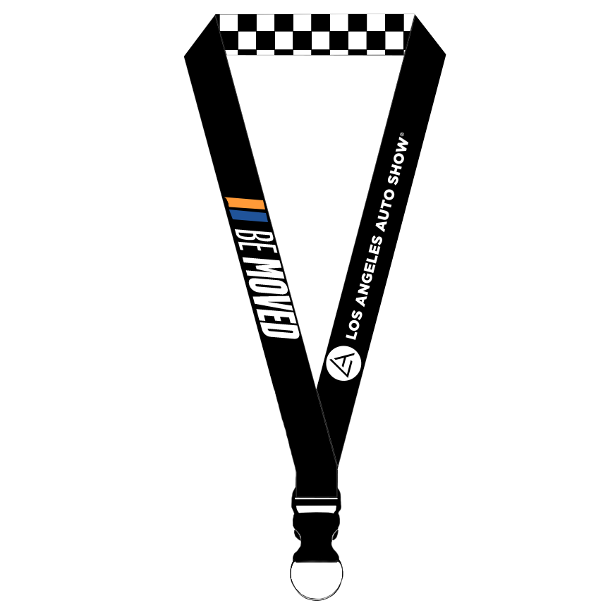 Be Moved Lanyard