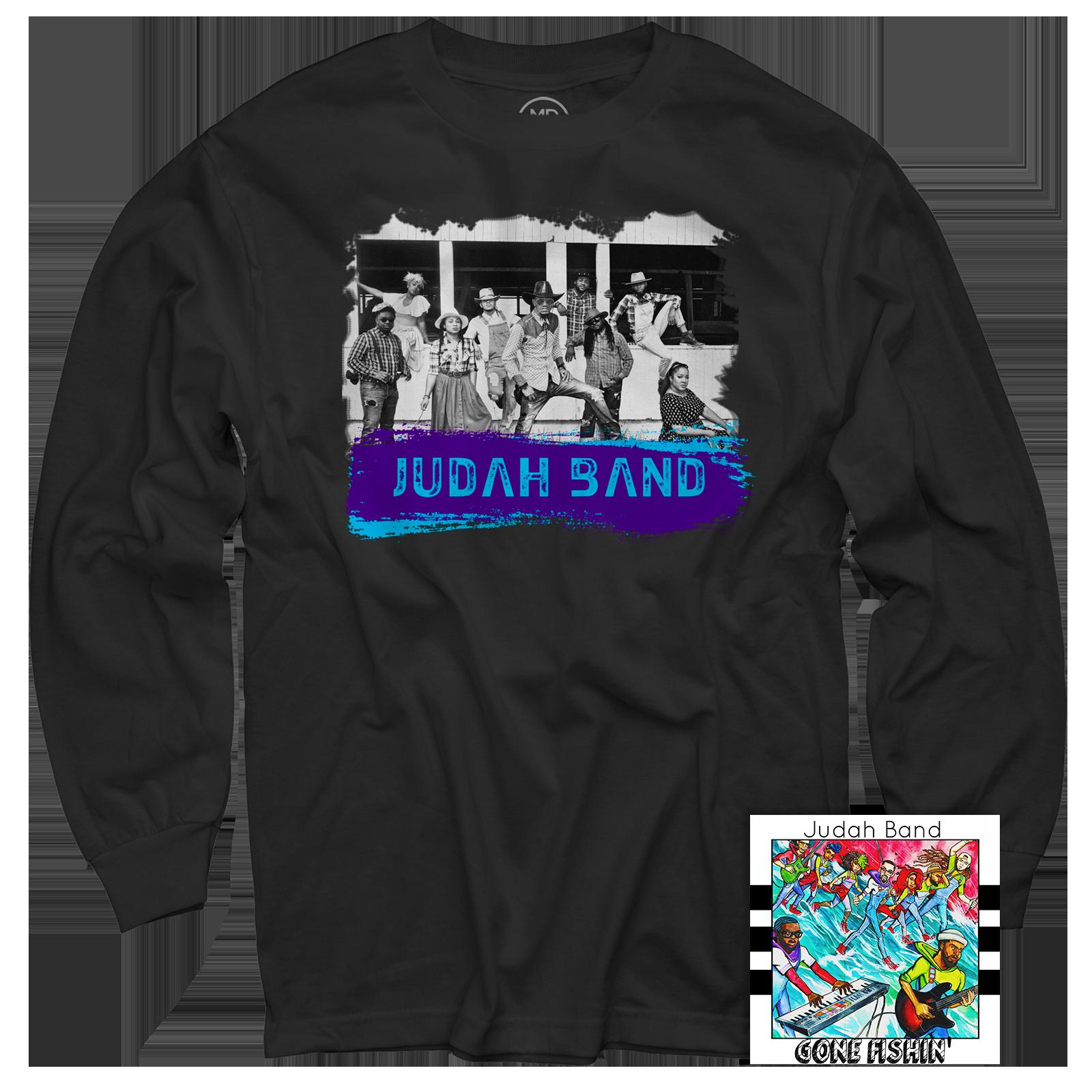Judah Band Black Long Sleeve + Gone Fishin' CD