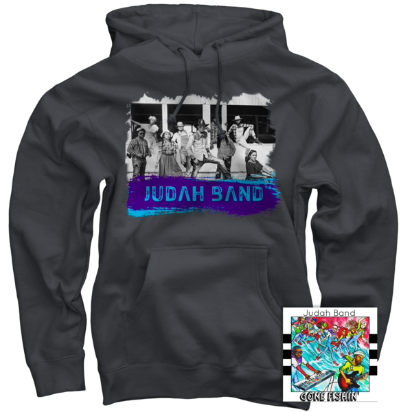 Judah Band Charcoal Pullover + Gone Fishin' CD