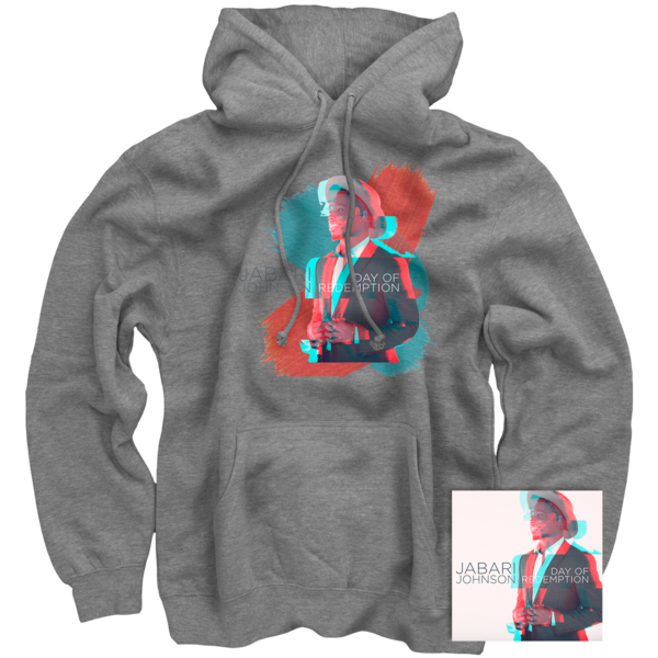 Jabari Johnson Grey Pullover + Day of Redemption CD