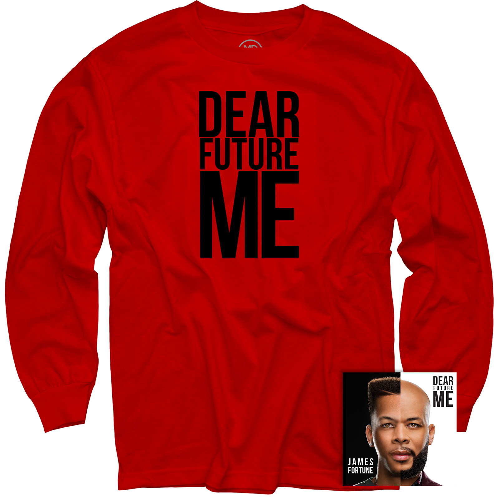 Dear Future Me Red Long Sleeve + CD