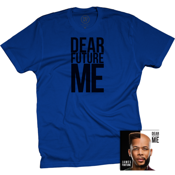 Dear Future Me Blue T-Shirt + CD