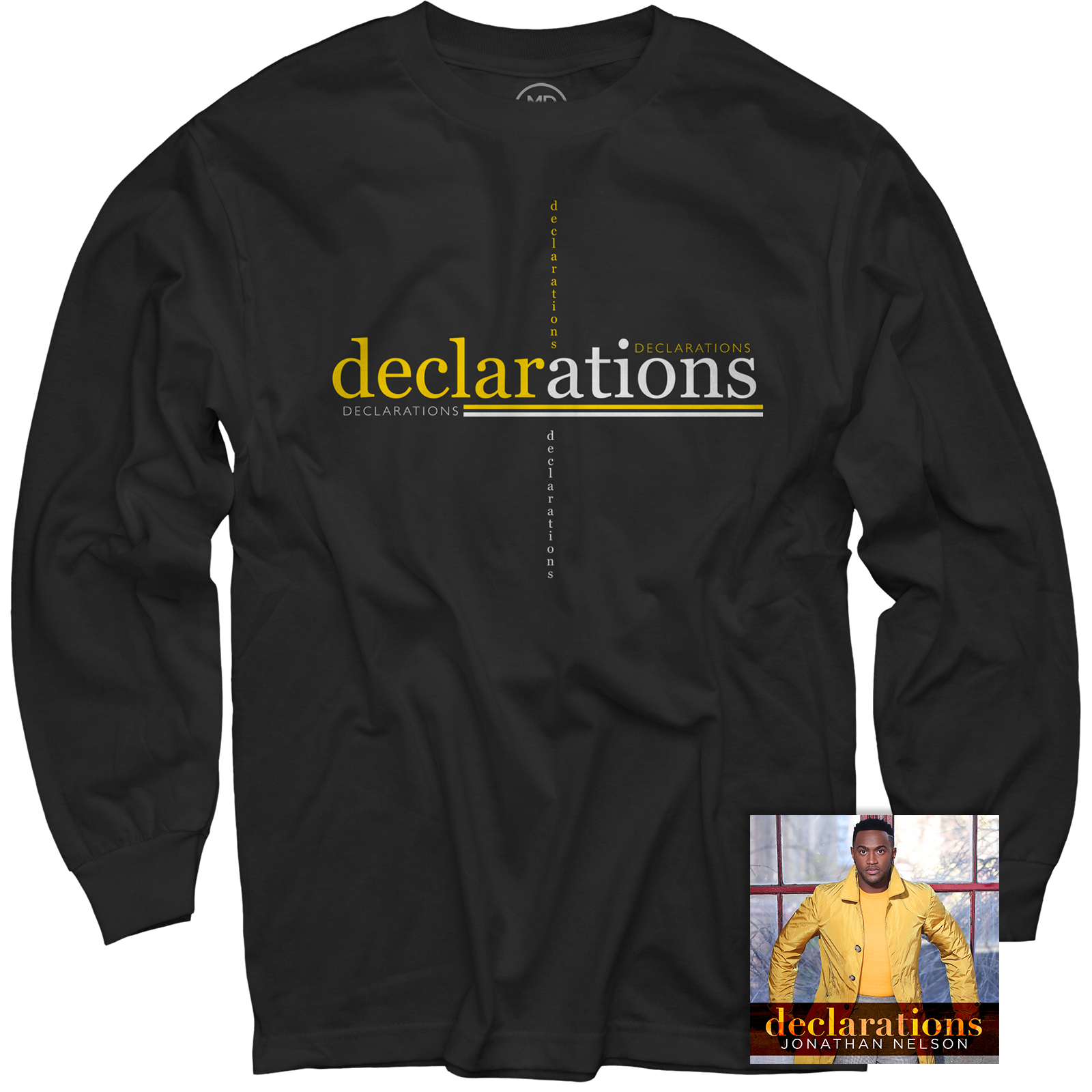 Declarations Black Long Sleeve + CD
