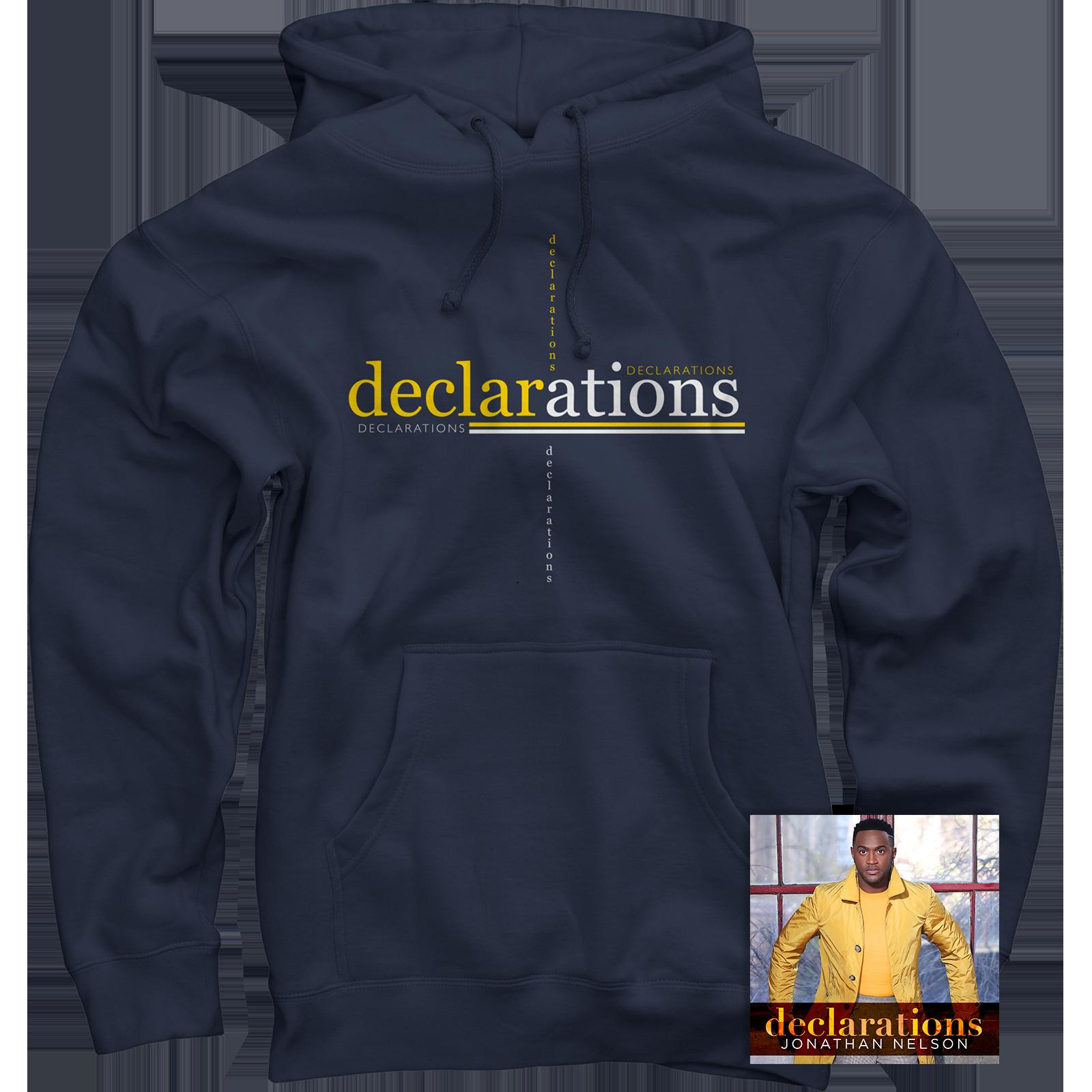 Declarations Navy Pullover + CD