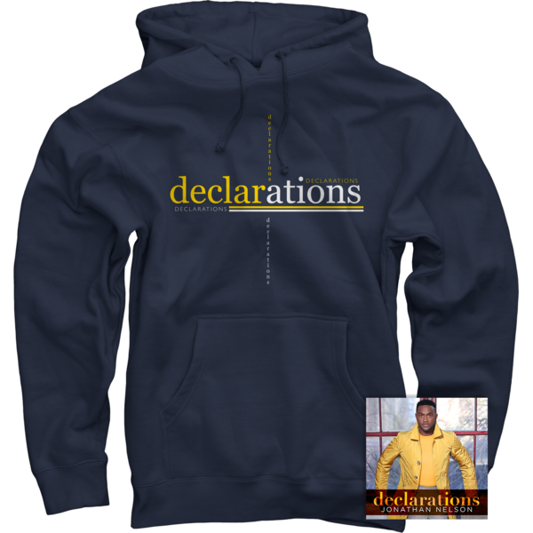 Declarations Navy Pullover + CD