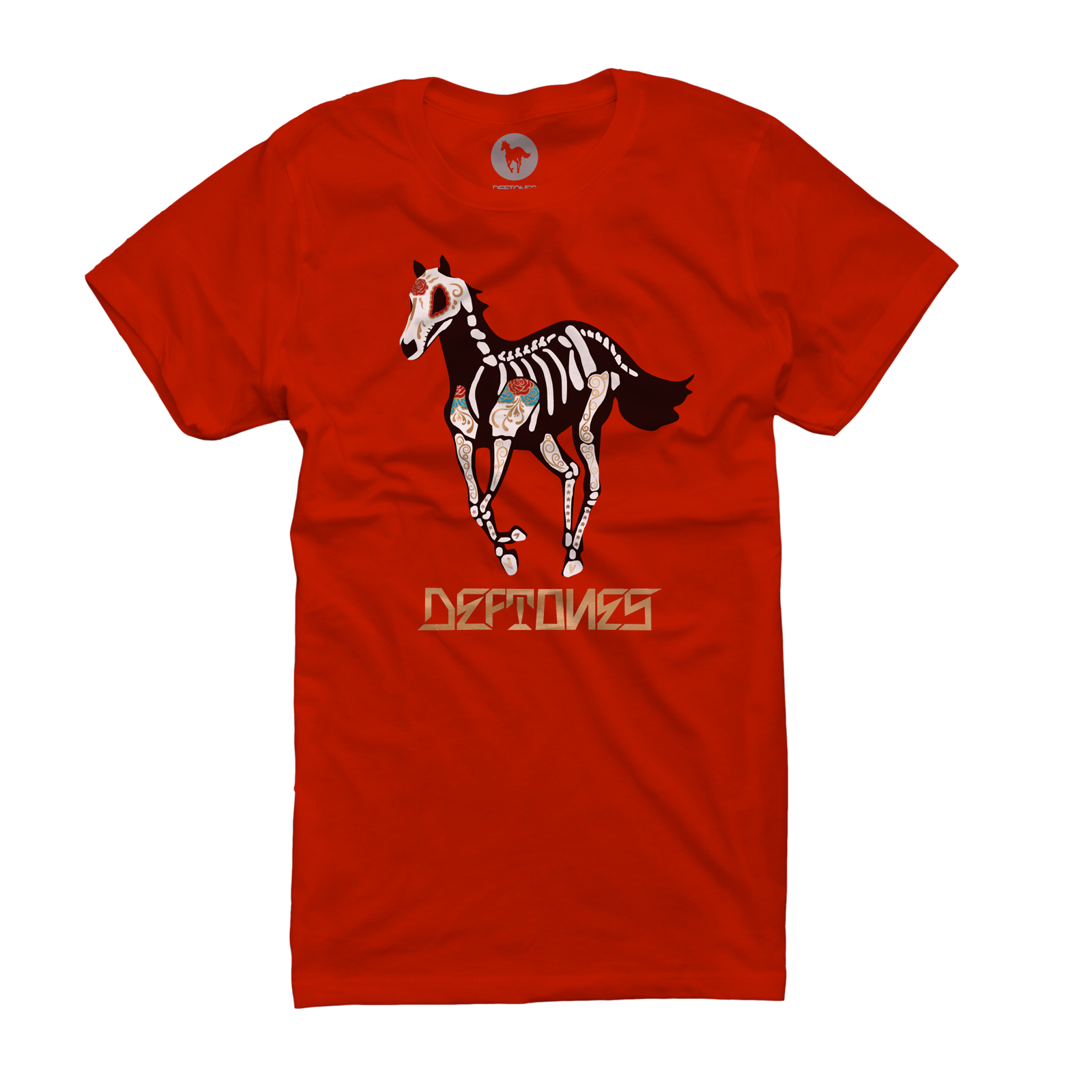 DDLD Pony On Red Women's T-Shirt