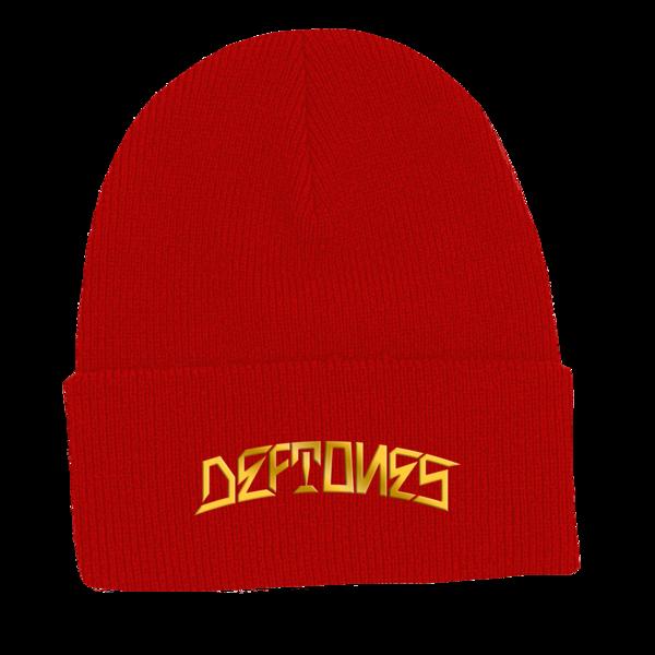 DDLD Red Beanie