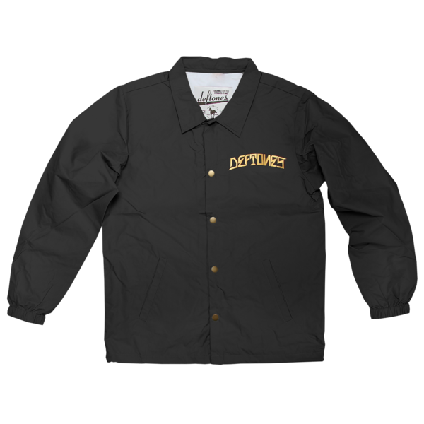 DDLD Shimmer Gold Coaches Jacket