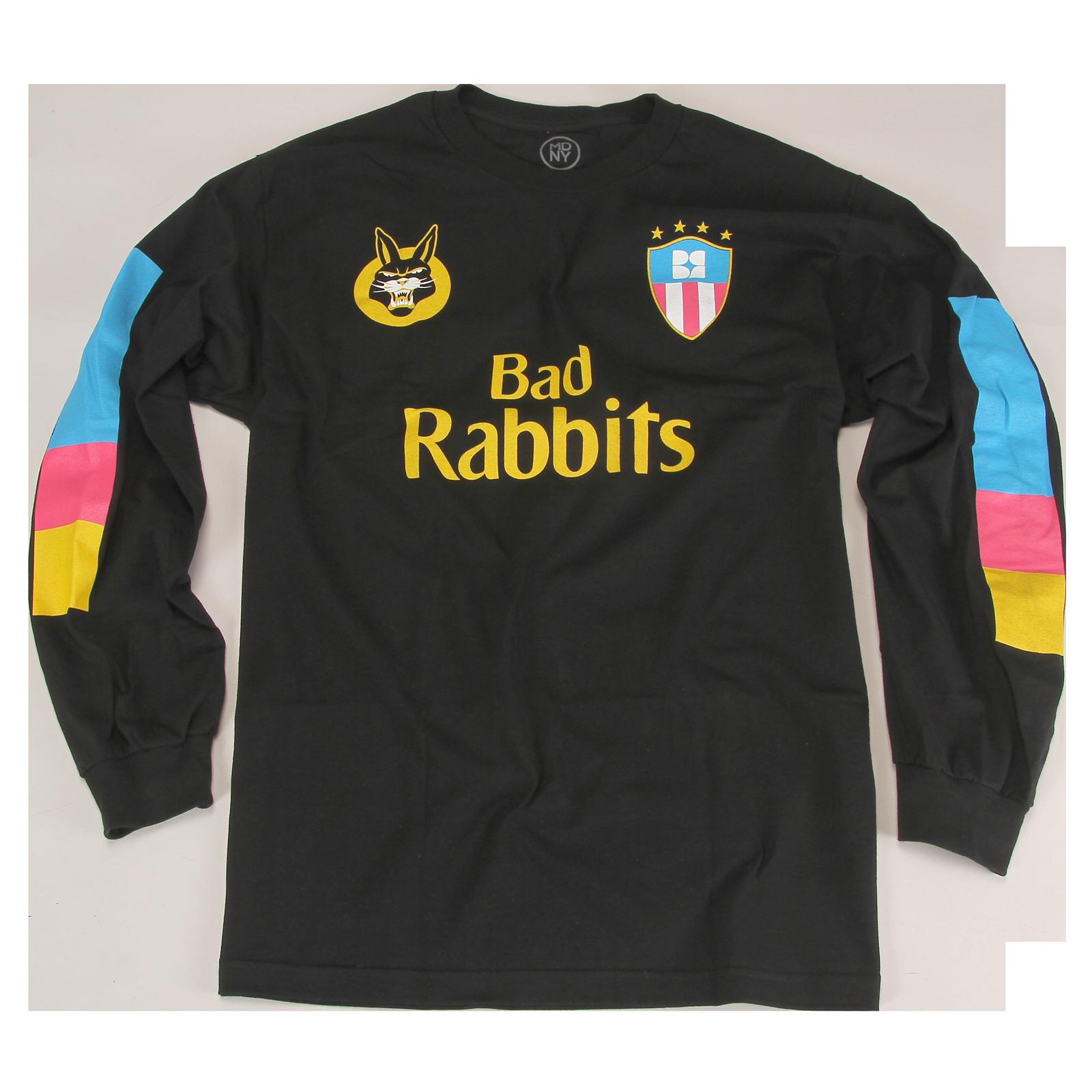 quality design cd6ab 1ed46 Mimi Soccer Jersey Black Long Sleeve - Bad Rabbits