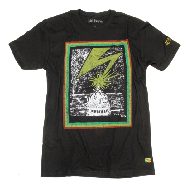 40th Original Bolt Black T-Shirt