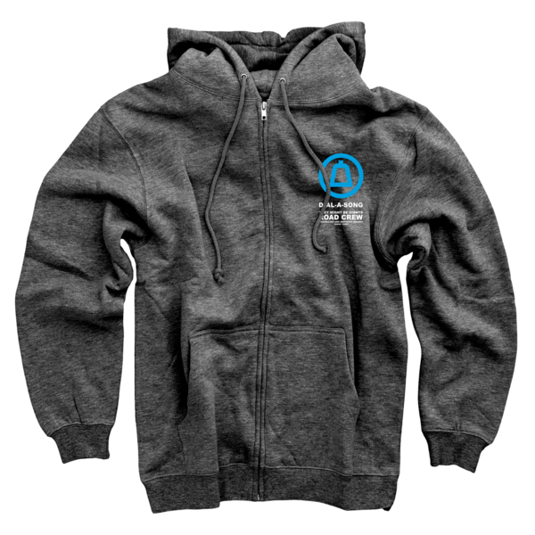 Dial-A-Song Hoodie on Dark Heather